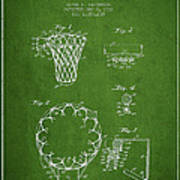 Vintage Basketball Goal Patent From 1936 Poster by Aged Pixel