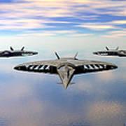 3 Viper F-32s Poster