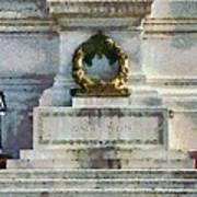 Vittorio Emanuele Monument In Rome Poster