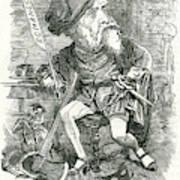 William Harrison Ainsworth  English Poster
