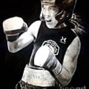 Woman's Boxing Champion Filipino American Ana Julaton Poster
