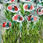 Zenmoksha Flowers Poster
