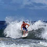 Surfing Fun Poster