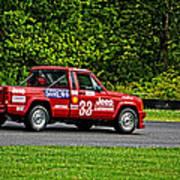 33 Jeep Motorsports Poster