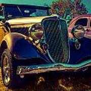 34 Ford Conv Poster