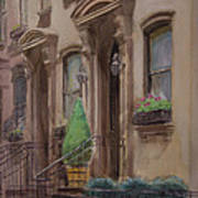 36th Street Ny Residence Of Fdr Poster