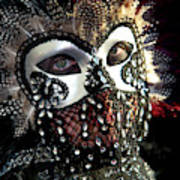 Venice, Italy Mask And Costumes Poster