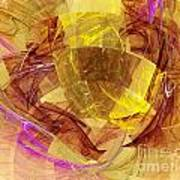 Colorful Abstract Forms Poster