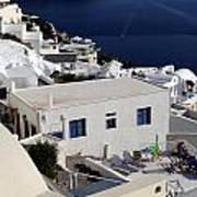 Views Of Santorini Greece Poster