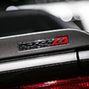 392 Hemi Dodge Challenger Srt Poster