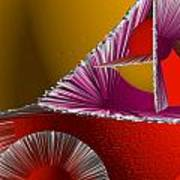 3d Abstract 6 Poster