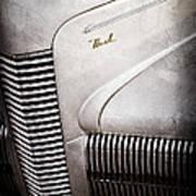 1940 Nash Sedan Grille Poster