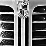 1948 Lincoln Continental Grille Emblem Poster
