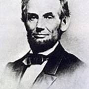 Abraham Lincoln Poster by Anonymous