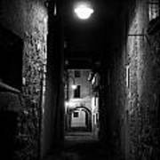 Alley Of Melancholy. Iseo Poster