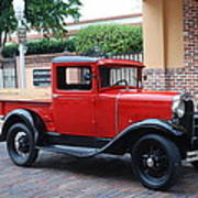 Antique Truck Poster