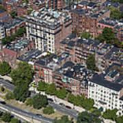 Back Bay District, Boston Poster