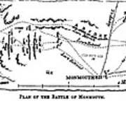 Battle Of Monmouth, 1778 Poster