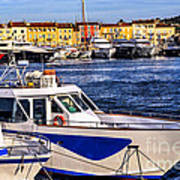 Boats At St.tropez Poster