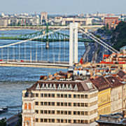 Budapest Cityscape Poster