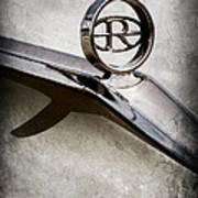Buick Riviera Hood Ornament  Poster