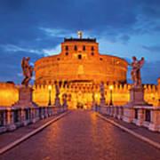Castel Sant Angelo Poster by Brian Jannsen