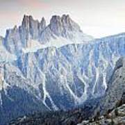 Charming Dolomites Poster