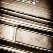 Chevrolet Camaro Taillight Emblem Poster