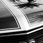Chevrolet Chevelle Ss Grille Emblem Poster