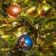 Christmas Tree Ornaments Poster