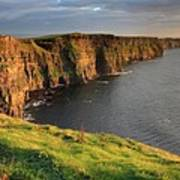 Cliffs Of Moher Sunset Ireland Poster