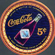 Coca - Cola Vintage Poster Poster