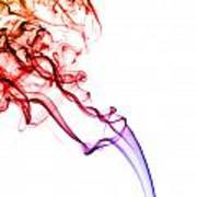 Colourful Smoke Poster