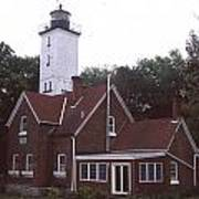 Forty Mile Point Light Poster