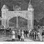 Golden Jubilee, 1887 Poster
