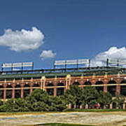Home Of The Texas Rangers Poster