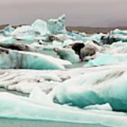 Iceberg Formations Broken Poster