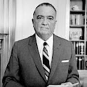 John Edgar Hoover (1895-1972) Poster