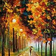 Light Of Autumn Poster