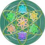 Mandala Is An Object It Is Your Spirit To Meditate And Be In Touch With Cosmic Forces That Matters Poster