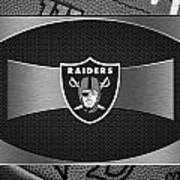 Oakland Raiders Poster by Joe Hamilton