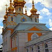 Peterhof Palace Russia Poster
