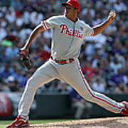 Philadelphia Phillies V Colorado Rockies Poster