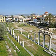Roman Market Poster
