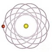 Rosetta Orbit Around Black Hole, Artwork Poster