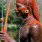 Samburu Warrior Poster