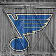 St Louis Blues Poster