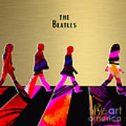 The Beatles Gold Series Poster