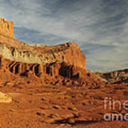 The Castle, Capitol Reef National Park Poster