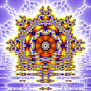 The Kaleidoscope Reflections Poster